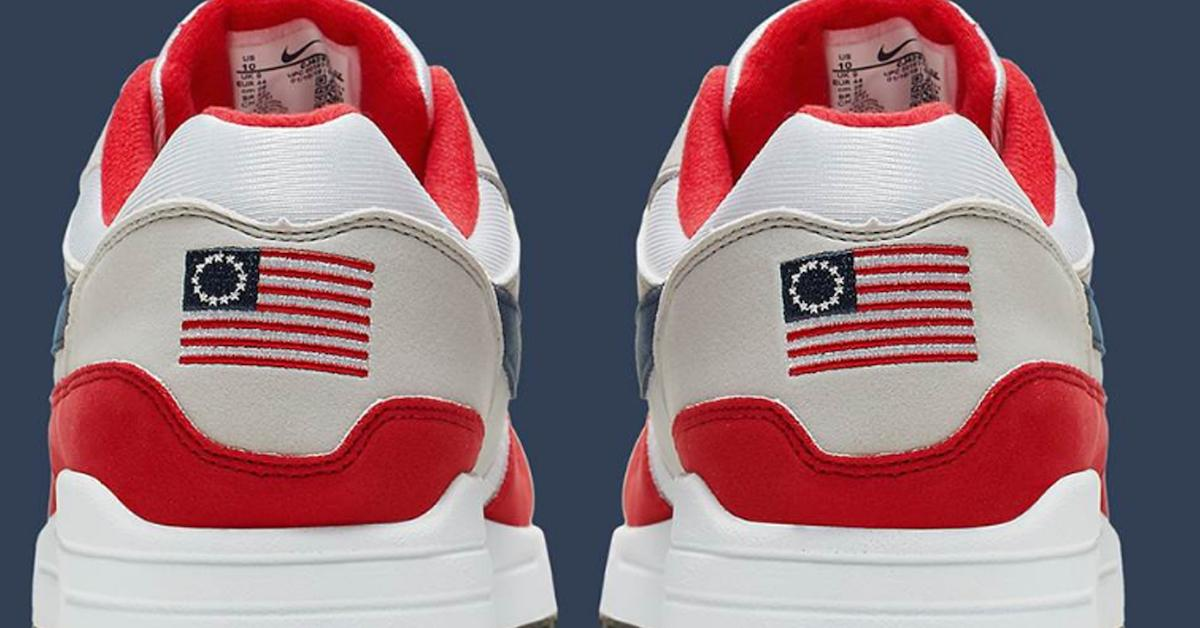 706589c9 Why Did Nike Cancel Their Betsy Ross Flag Shoes? Ask Colin Kaepernick