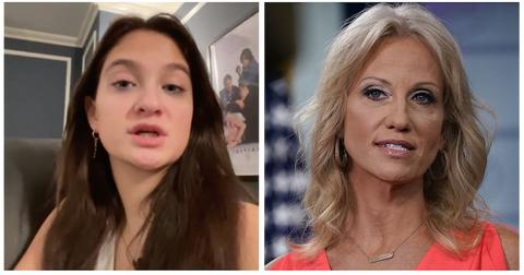 Claudia Conway and Kellyanne Conway
