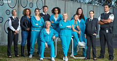 Cast of Foxtel's series 'Wentworth.'