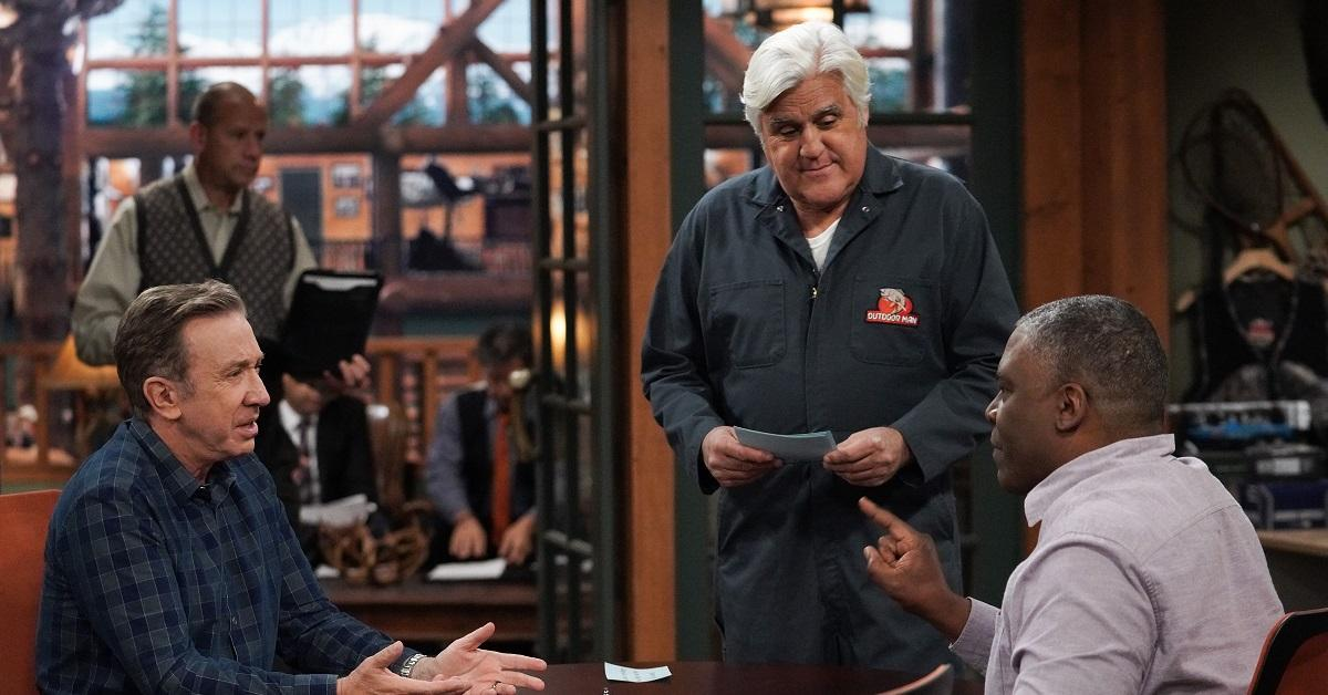 Jay Leno and Tim Allen