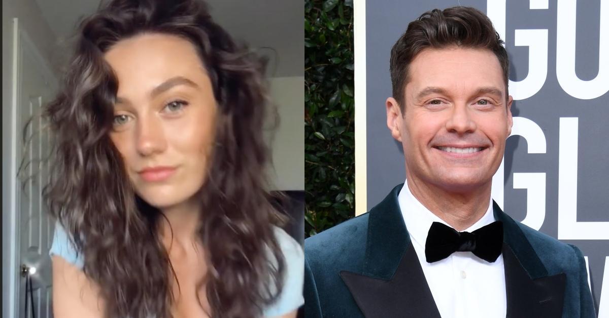Aubrey Paige Petcosky and Ryan Seacrest