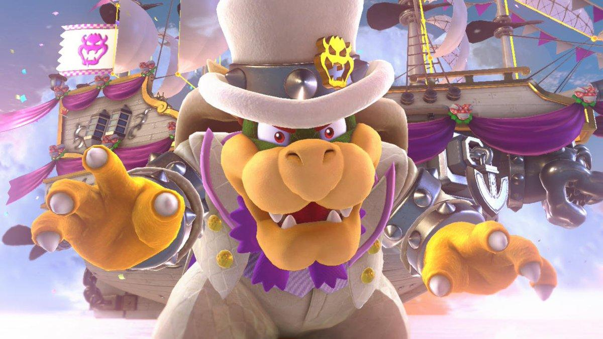 Super Mario Odyssey Players Are Taking Note Of Bowser S