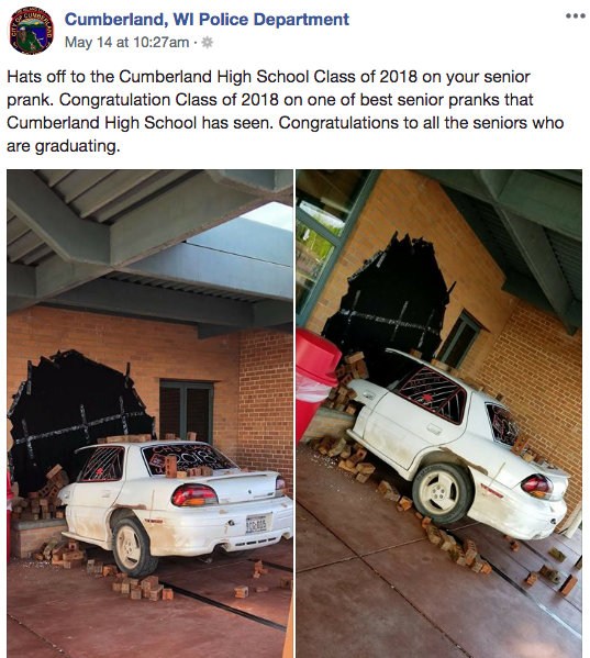 Wholesome Senior Pranks That Won't Get You Into Trouble