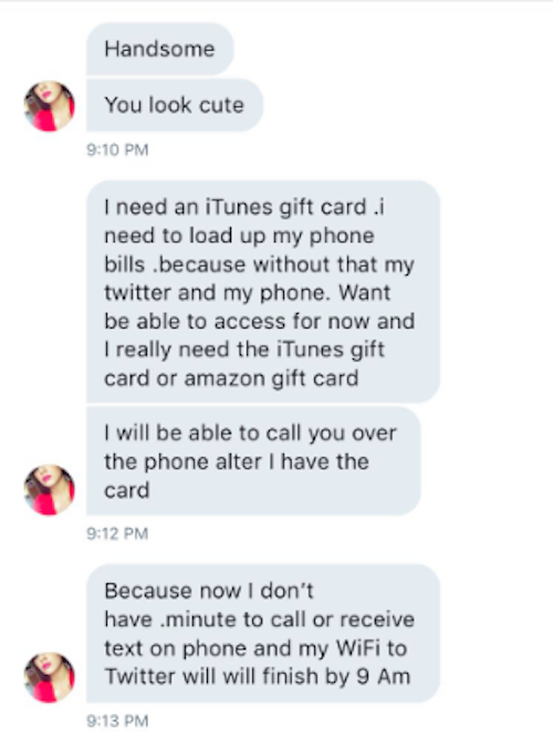 This Person Messing With An ITunes Card Scammer Will Make