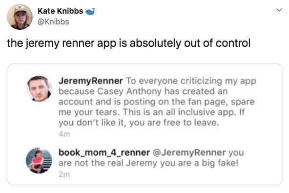 Jeremy Renner Shuts Do...