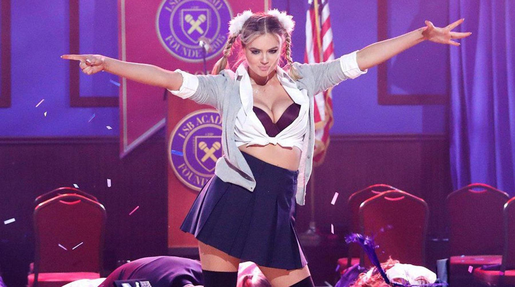 Kate Upton as Britney Spears