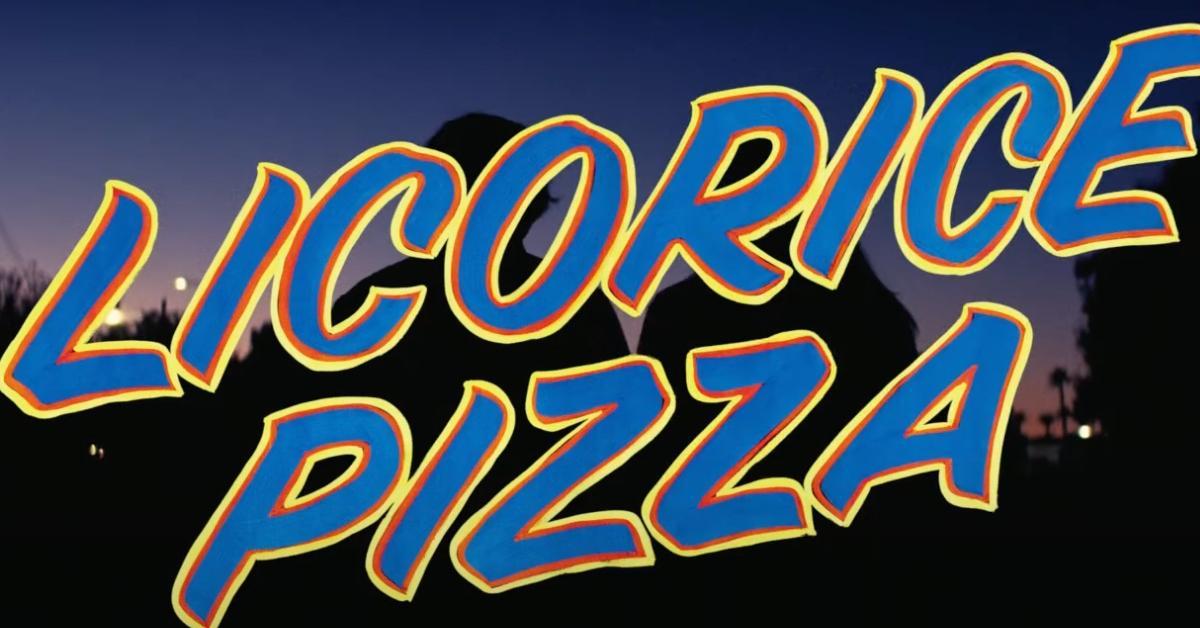 'Licorice Pizza' Title Card
