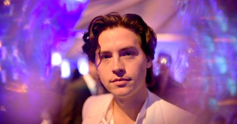 cole sprouse is over party