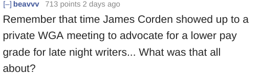 James Corden's