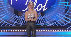 Claudia Conway auditioning on 'American Idol'