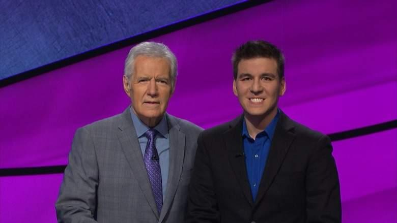 James Holzhauer and Alex Trebek
