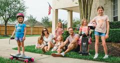 'Outdaughtered' parents Adam and Danielle Busby with their daughters.
