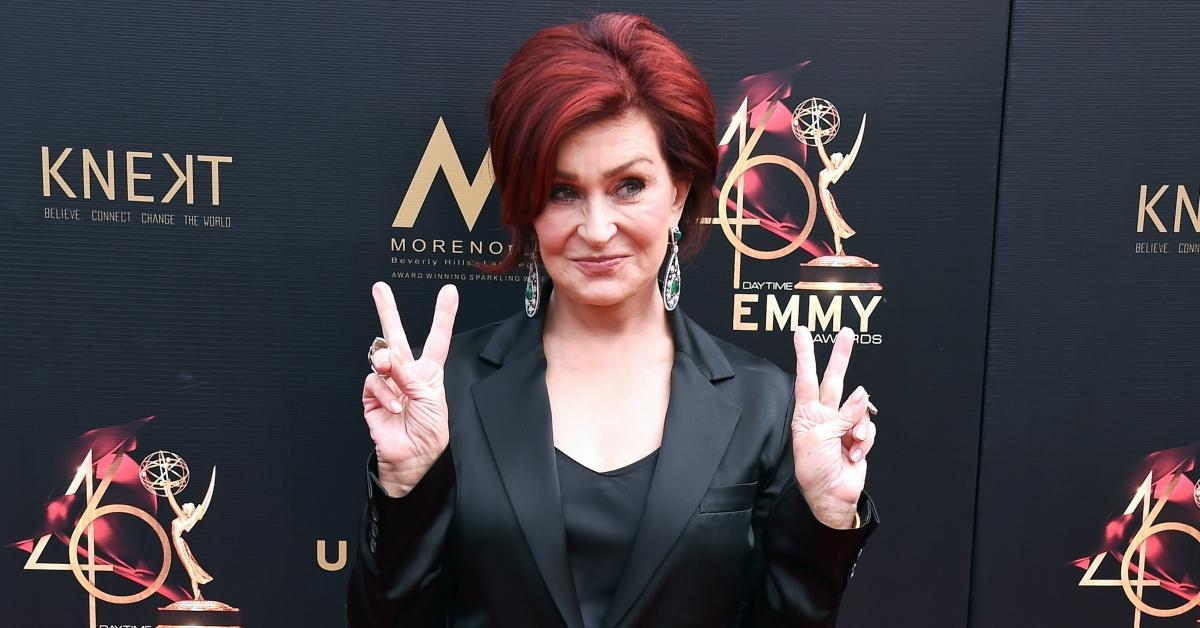 "Sharon Osbourne Debuts ""Refreshed"" Look on 'The Talk' After Undergoing Facelift This Summer"