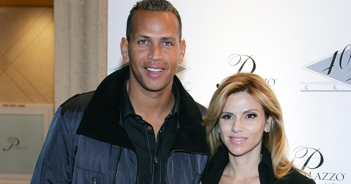 Alexander Rodriguez and his ex-wife Cynthia Scurtis