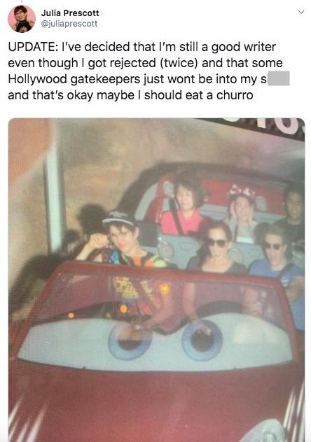Woman Went to Disneyland Alone After Getting a Job Rejection
