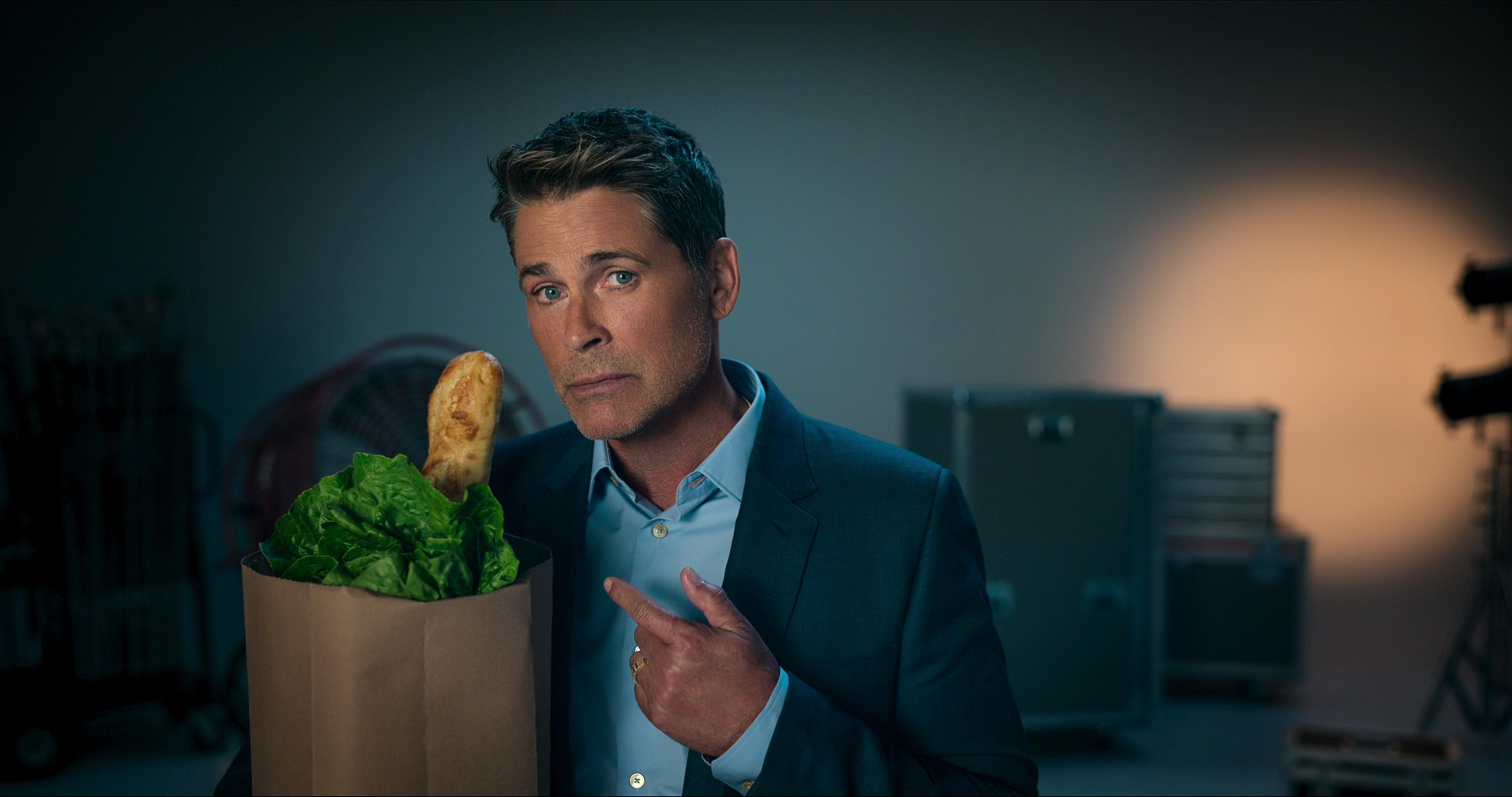 Rob Lowe in 'Attack of the Hollywood Clichés'
