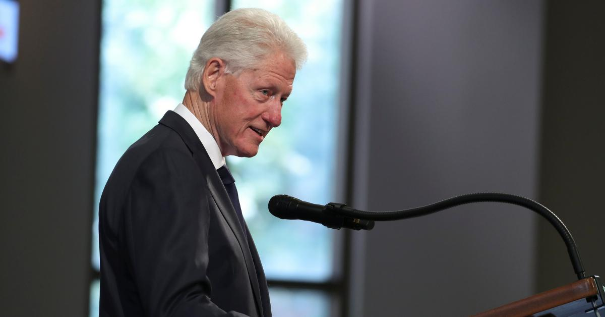 what happened to bill clintons voice