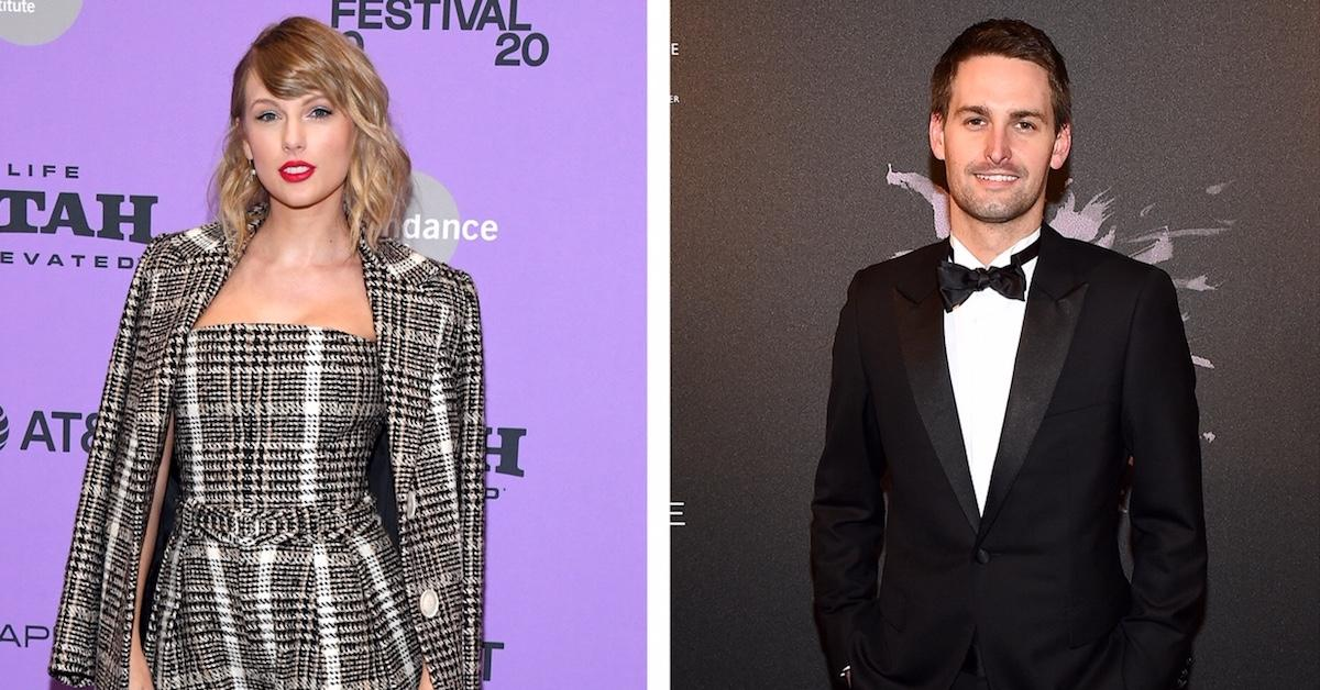 Taylor Swift and Evan Spiegel