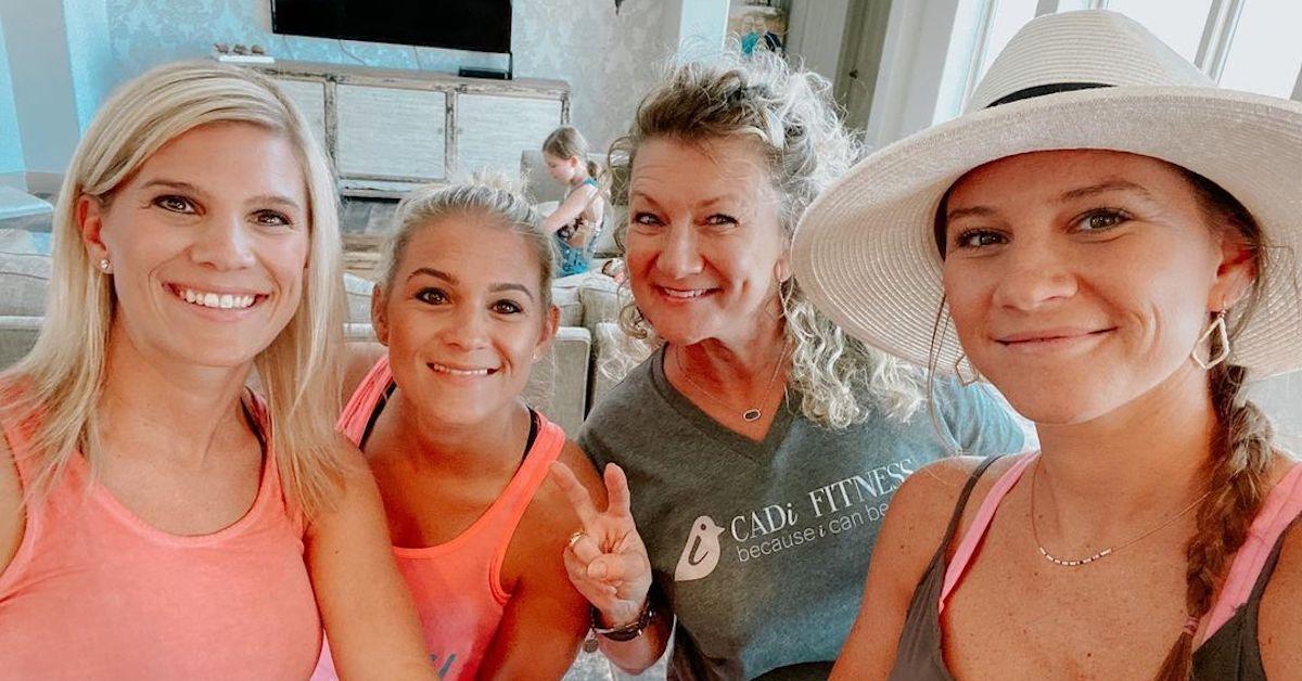"""""""太多的""""明星Danielle Busby,她的姐妹和妈妈"""