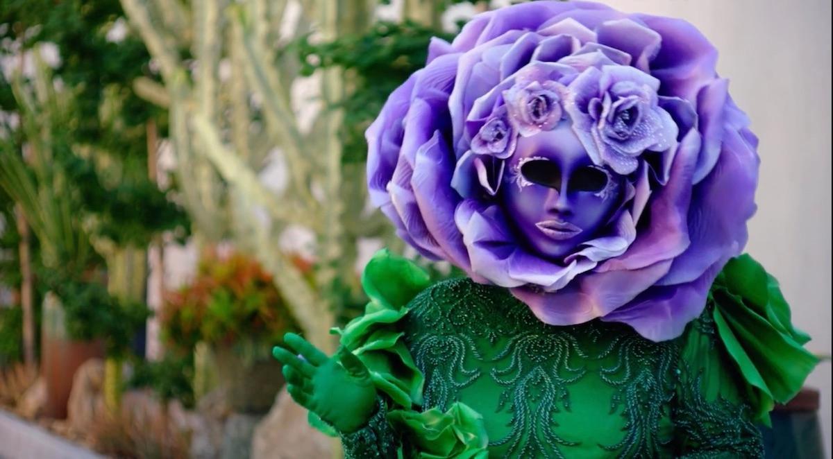 who is flower masked singer