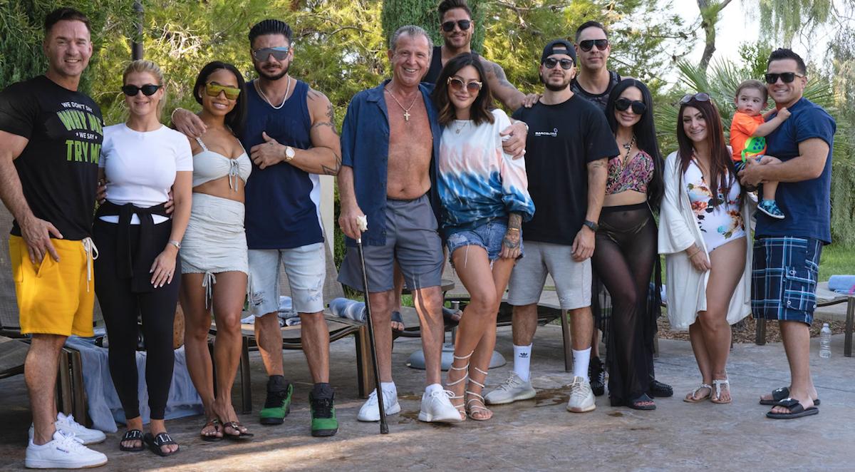 Jersey Shore Family Vacation cast