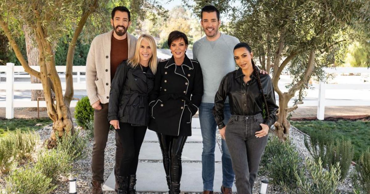 Jonathan Scott Drew Scott Kim Kardashian Lisa Miles Kendall Jenner Kris Jenner