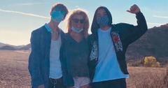 Britney Spears with Jayden and Sean Federline