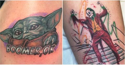 Tattoos That 2019 Made Possible Baby Yoda Game Of Thrones
