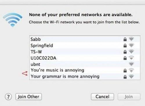 funniest wifi names 2018
