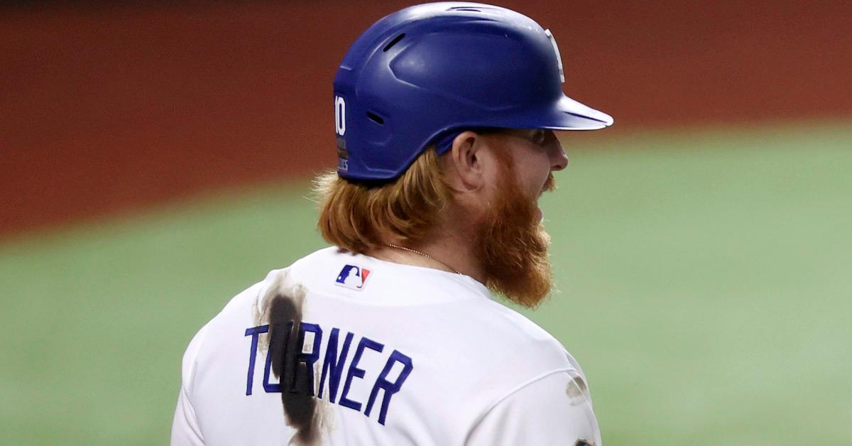 Why Does Justin Turner Have a Stain on His Jersey? The Mystery, Solved