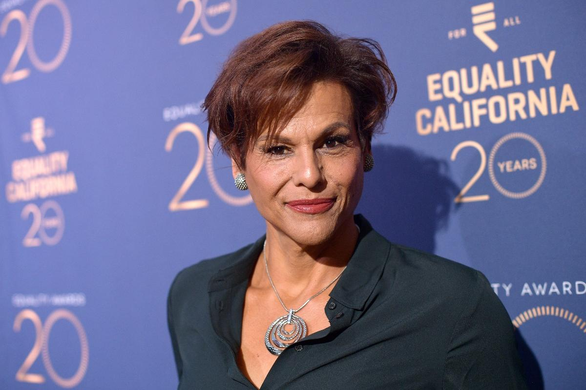 Alexandra at the Equality California's Special 20th Anniversary Event