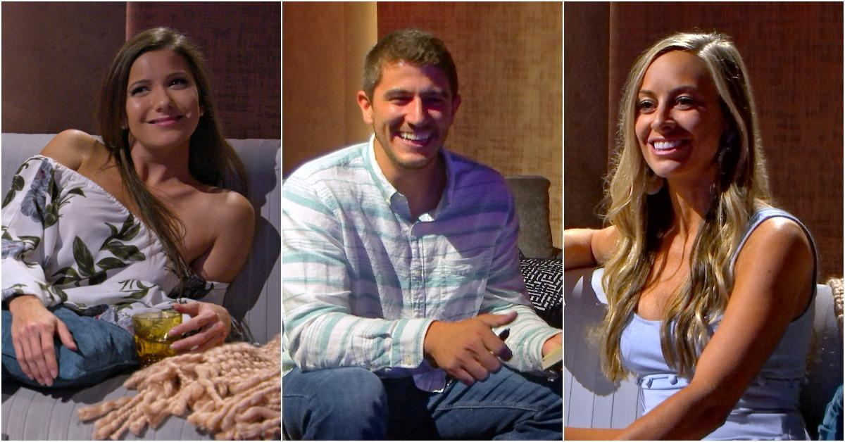 Amber, Barnett, and Jessica on 'Love Is Blind'