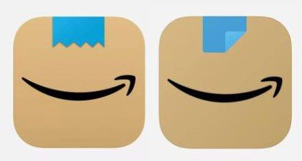 amazon logo before and after