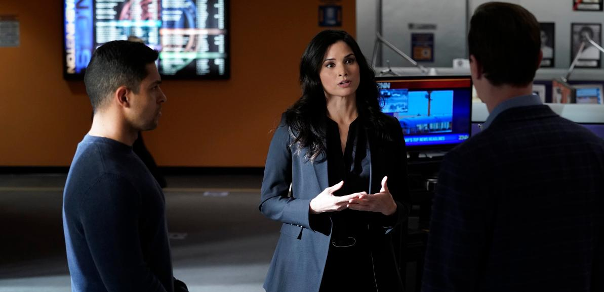 Knight and Torres in 'NCIS'