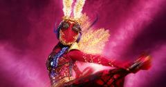 Miss Moth on The Masked Dancer