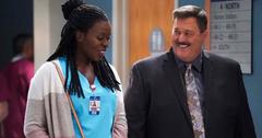 Bob at the hospital with Abishola