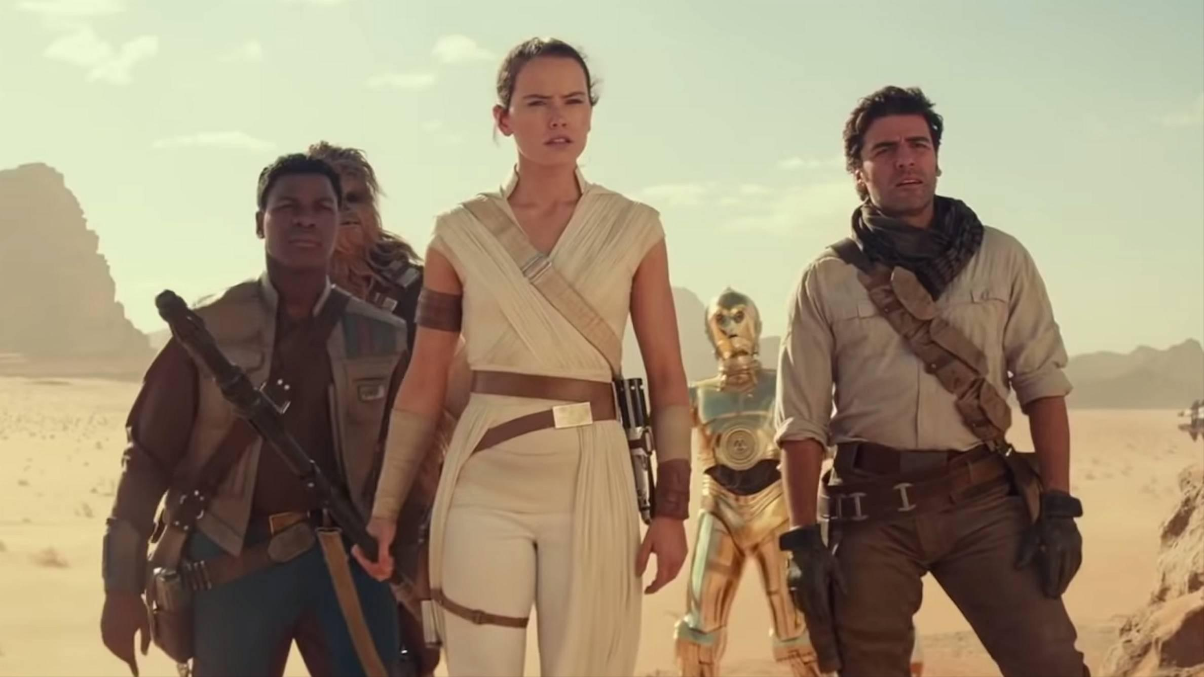 Who Are The Jedi Voices Rey Hears In Star Wars The Rise Of Skywalker