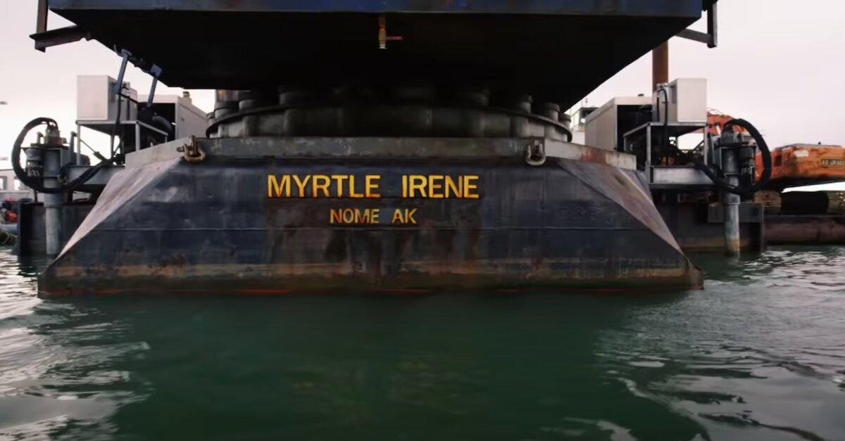 did myrtle irene sink bering sea gold