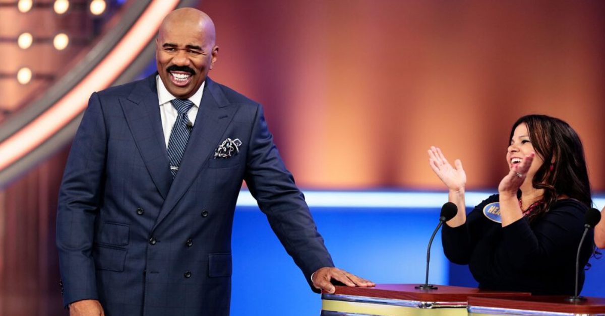 How Much Steve Harvey Makes per 'Family Feud' Episode