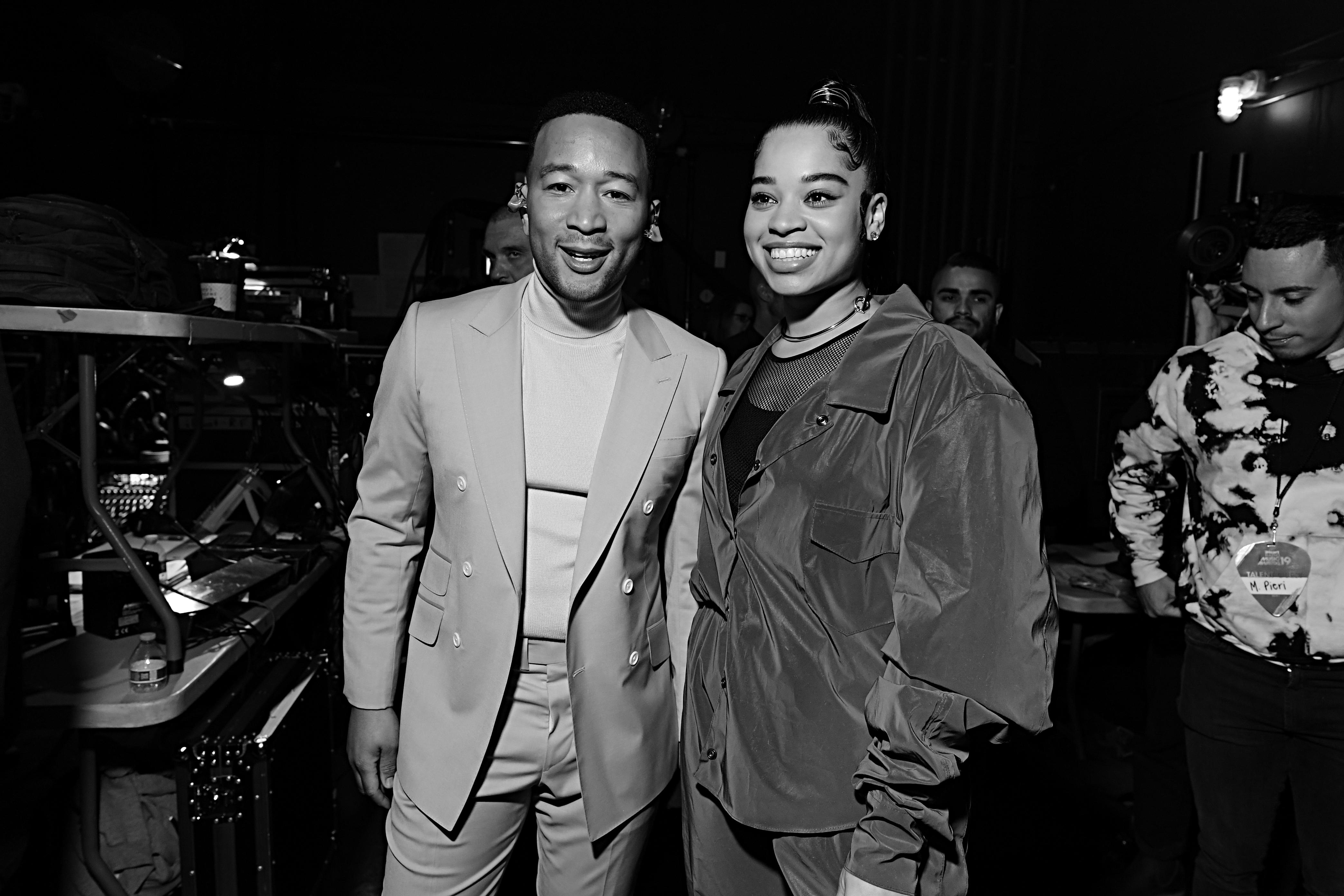 Ella Mai and John Legend