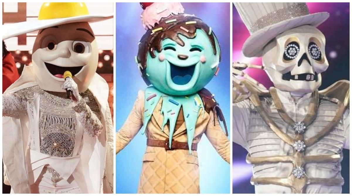the masked singer season  reveal list