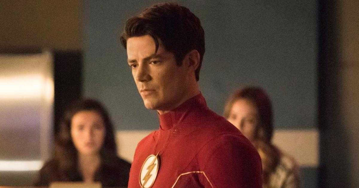 Grant Gustin as 'The Flash'