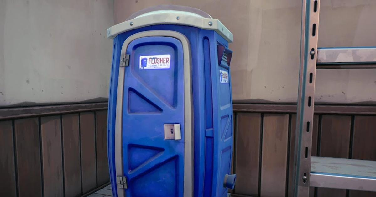 """porta-potty""""Fortnite"""""""