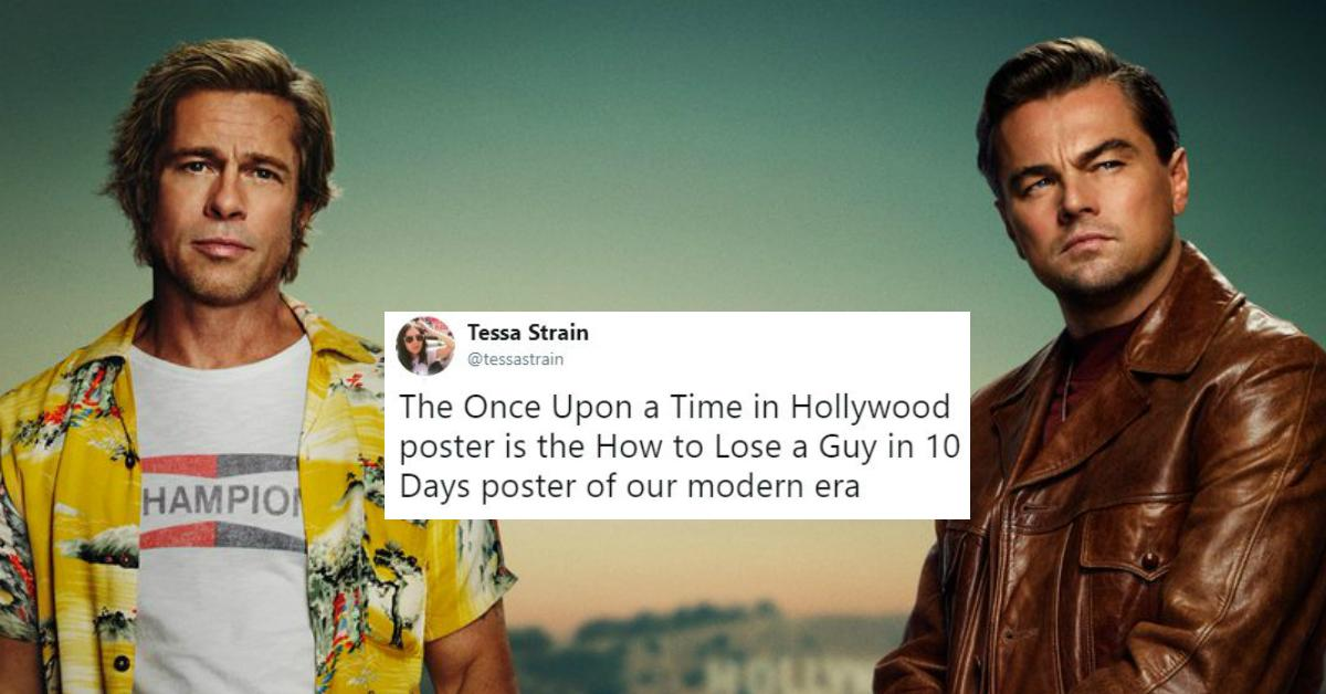 b95581a4447 People Roasting 'Once Upon a Time in Hollywood' Poster Photoshop Fail