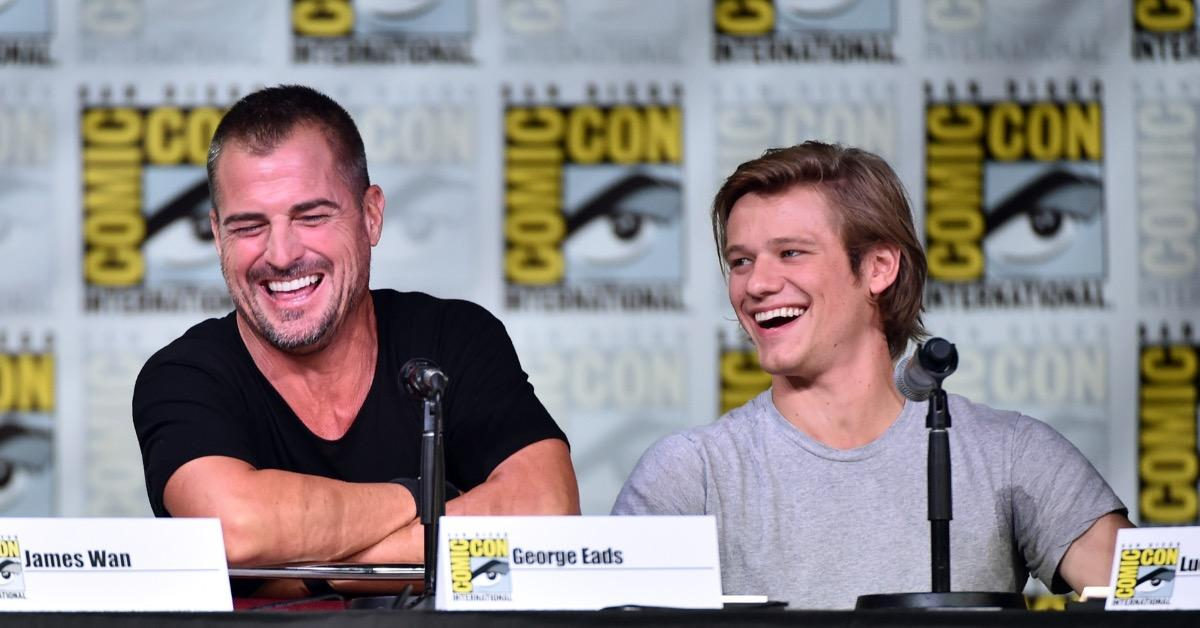 George Eads and Lucas Till