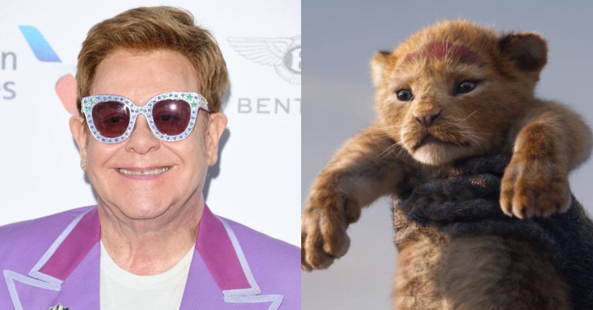 elton john and The Lion King