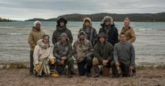 Season 7 cast of 'Alone' on History.