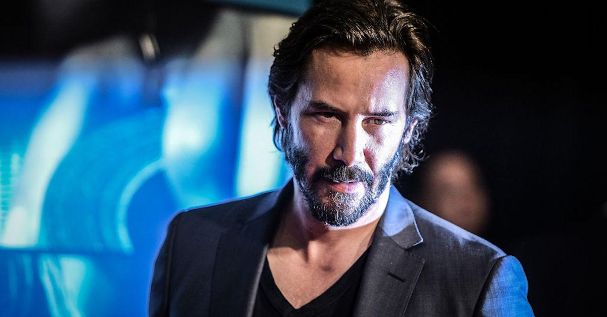 Keanu Reeves Doesn't Have Nearly as Much Ink as John Wick Does