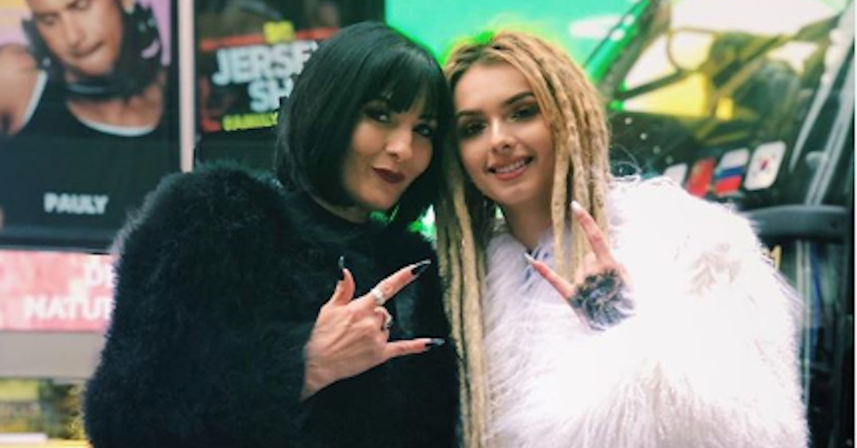 Photo of Zhavia Ward  & her Mother  Bobbi Jo Black