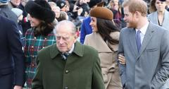 Prince Philip, Prince Harry and Meghan Markle